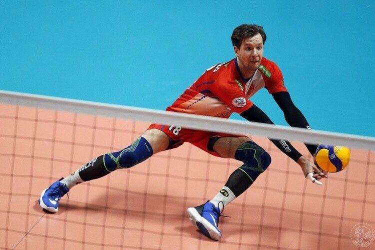 Український волейболіст Єрещенко продовжить контракт з російським клубом