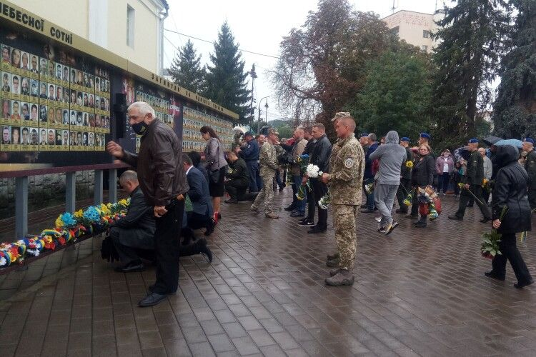 У Луцьку вшанували загиблих захисників України (Фото)