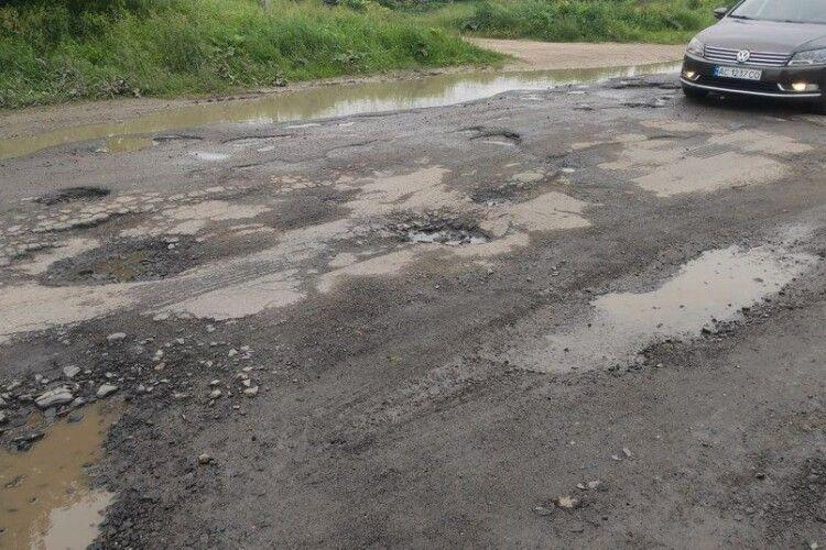 Коли відремонтують дорогу від Берестечка до Горохова