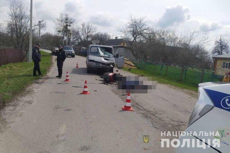 На Рівненщині п'яний водій збив подружжя на скутері: є загиблий