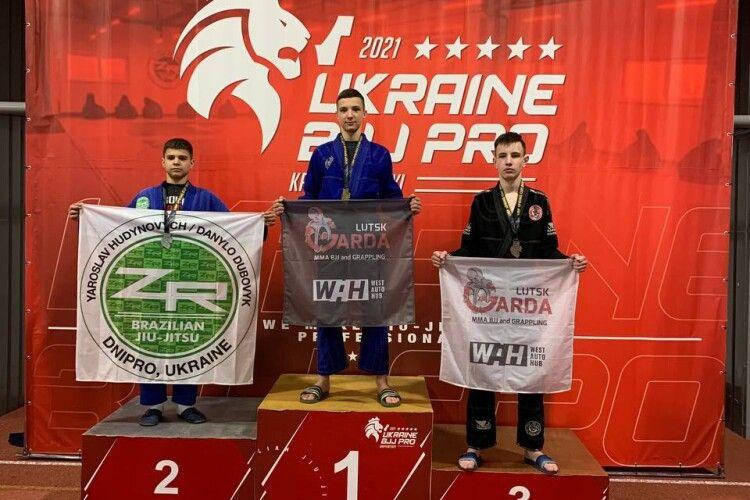 Джиу-джитсу: волинські спортсмени привезли з Кропивницького і «золото», і «срібло», і «бронзу»