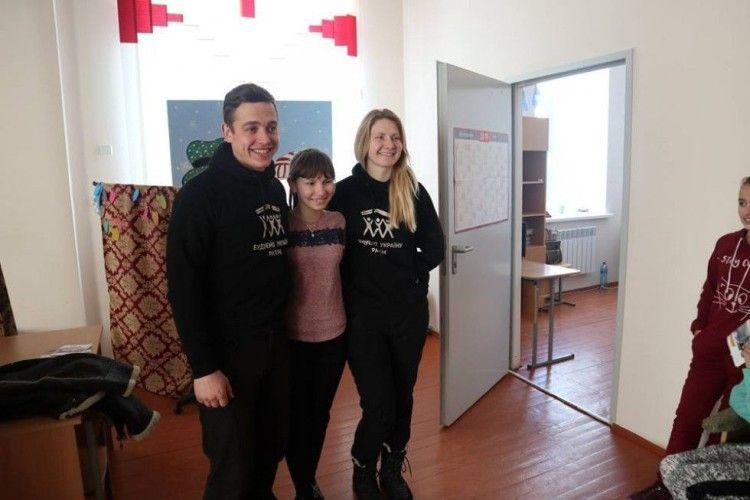 У Смідинській громаді побували волонтери всеукраїнського проекту