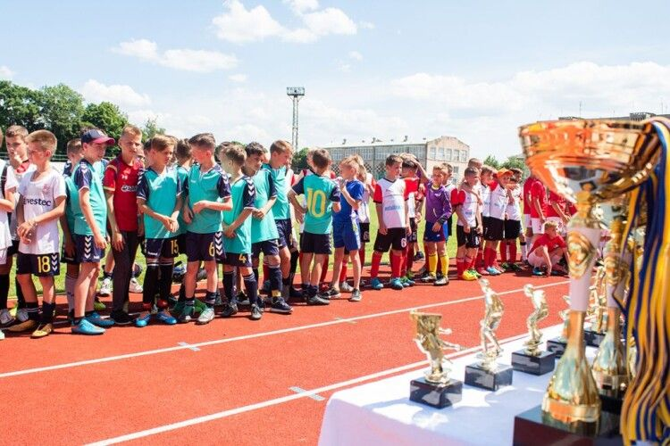 У Нововолинську пройшов футбольний турнір. Хто переміг