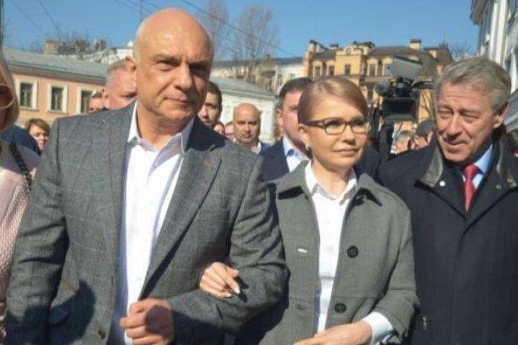 Тимошенко вже встигла