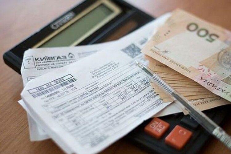 Кількість боргів за комунальні послуги збільшилась у півтора рази