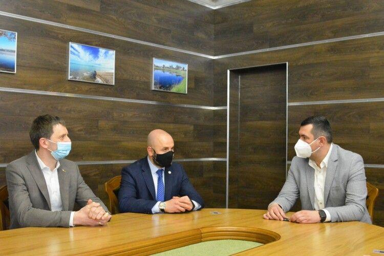 Почесний консул Хорватії приїхав до Луцька запропонувати «тісну співпрацю» (Фото)
