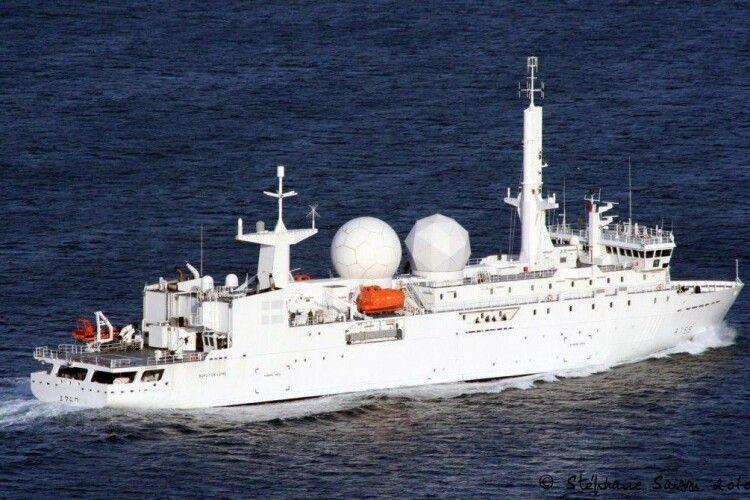 Французьке військове судно заблокувало роботу російських комплексів ППО С-400 в тимчасово окупованому Криму