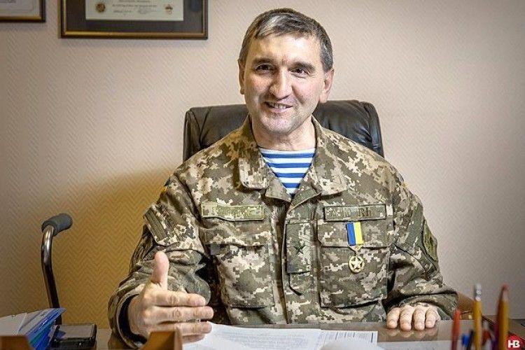 Герой України із Рівненщини привітав бійців АТО з прийдешнім Новим роком