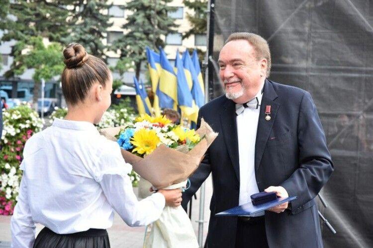 Вручили відзнаки «Почесний громадянин міста Луцька»