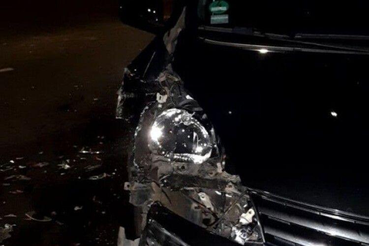У Луцьку сталася ДТП: зіткнулися дві автівки (Фото)