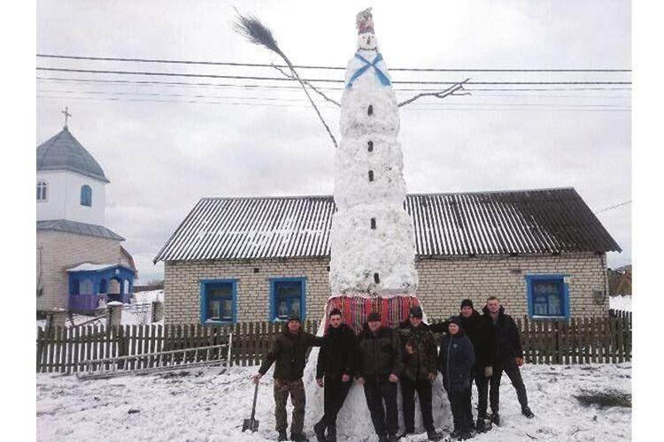 В якому селі найкраща Снігова Баба?