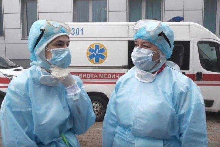 У Нововолинську троє медиків заразилися коронавірусною інфекцією