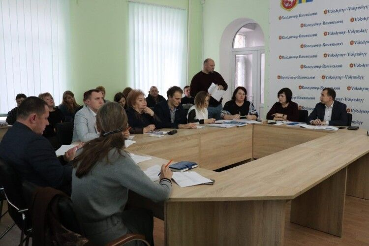У Володимирі-Волинському розглянули пропозиції щодо реалізації Стратегії розвитку міста