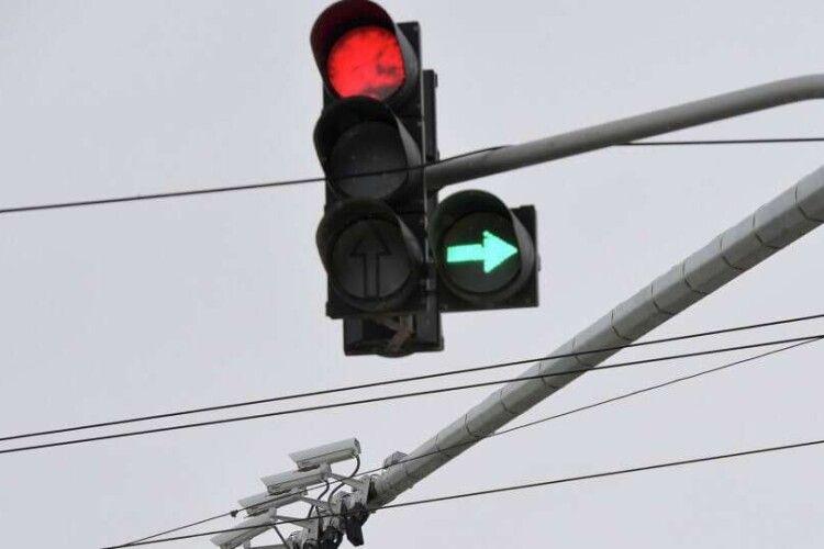 У Ковелі дооблаштують світлофори на перехрестях з інтенсивним рухом