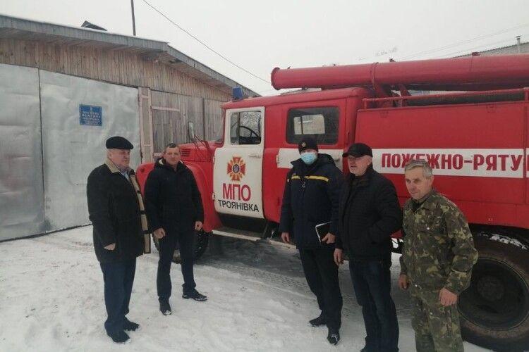 На Маневиччині перевірили боєготовність підрозділів місцевої пожежної охорони
