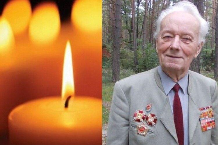 Пішов у засвіти 99-річний волинський ветеран, який залишив автограф на стіні рейхстагу