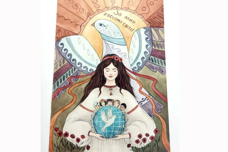 Юна поліська художниця тріумфувала в Міжнародному конкурсі
