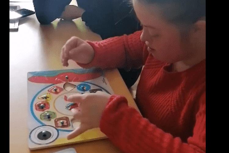 Фізичні терапевти з волинського вишу працювали із сонячними дітьми (Відео)