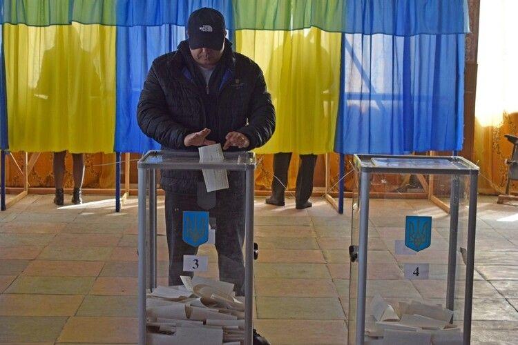 Явка на виборах Рівненського міського голови склала 30%