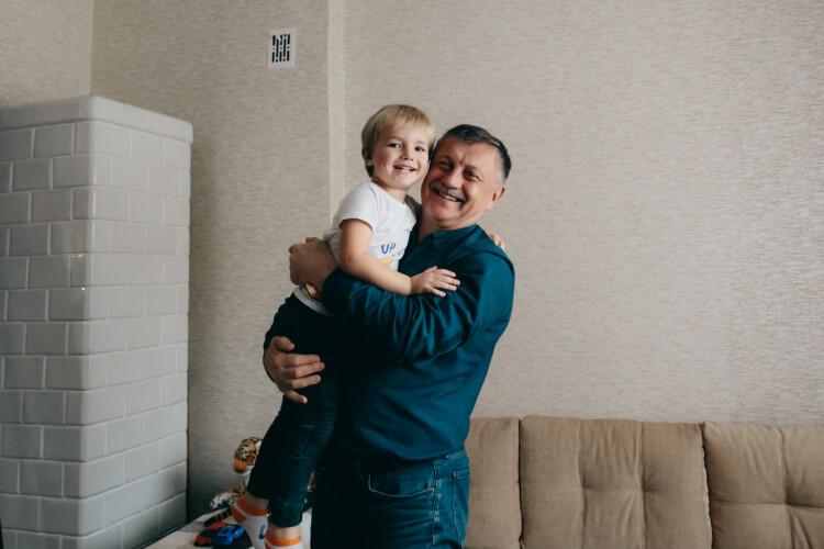 «Класно, коли тато забиває гол». Удома в Богдана Шиби (Фото)