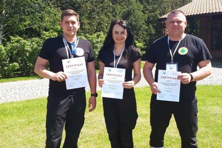 Волиняни посіли третє місце на Міжнародному чемпіонаті бригад екстреної медичної допомоги «БАРТОШИЦЕ 2019»