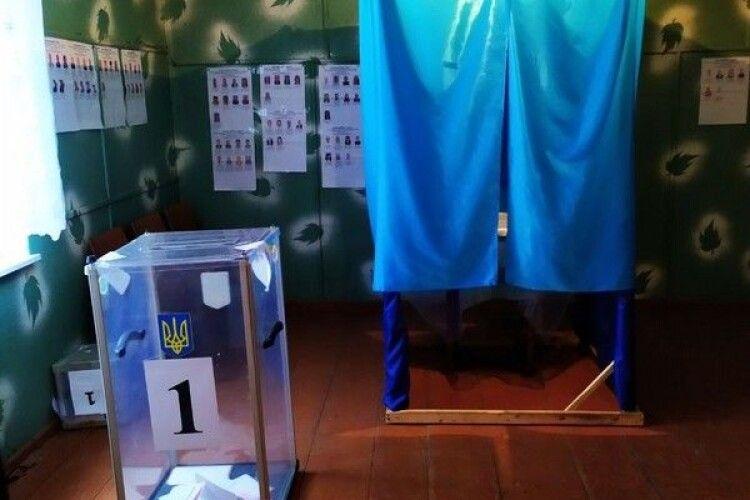 Спостерігачі ОПОРИ на Волині повідомляють про брак кабінок для голосування