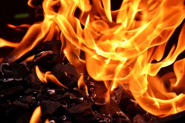 На Горохівщині сталася пожежа