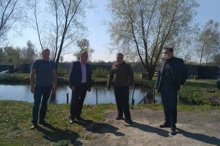 На Горохівщині минулоріч виростили понад 205 тонн товарної риби