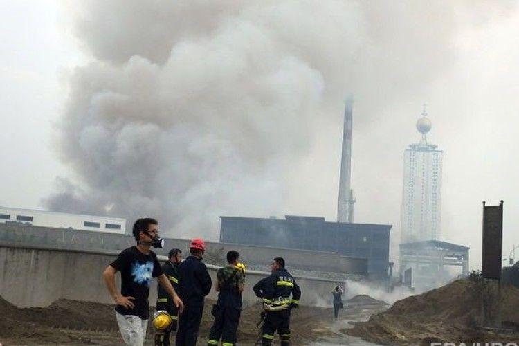 У Китаї на заводі з переробки відходів сталася пожежа: загинули дев'ятеро людей