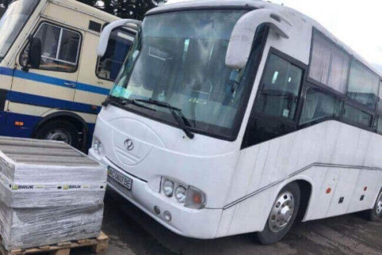 У Горохові зі стоянки викрали автобус Луцької районної ради