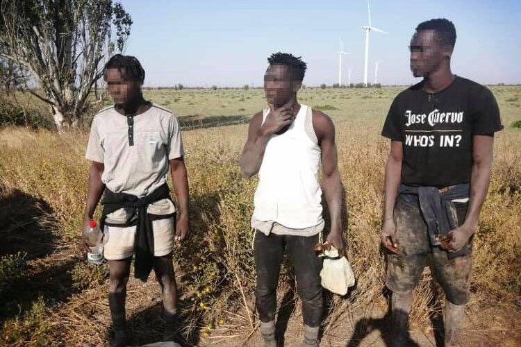Троє громадян Гвінеї вплав дісталися берегів України