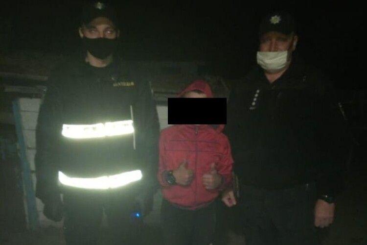 У Маневицькому районі поліцейські оперативно розшукали дитину