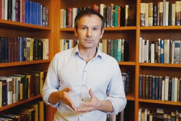 Вакарчук не йде в президенти (Відео)