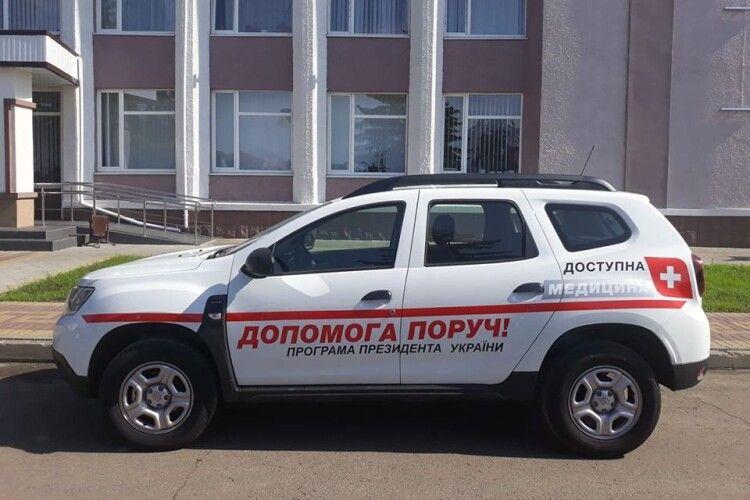 Новий автомобіль медичної допомоги приїде на Маневиччину