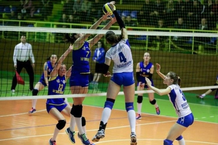 Лучанки поступилися у волейбольному трилері в Тернополі