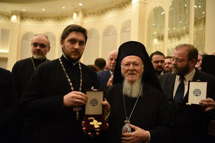 Волинянин Іван Сидор отримав нагороду від Вселенського патріарха Варфоломія