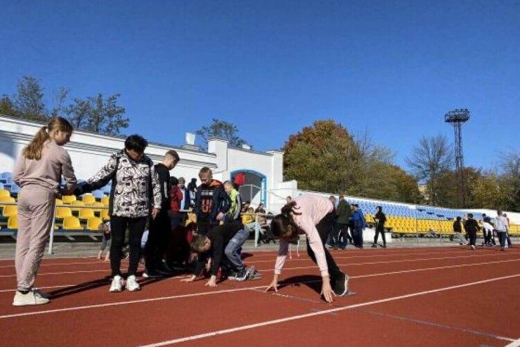 У Нововолинську відбувся турнір із легкої атлетики