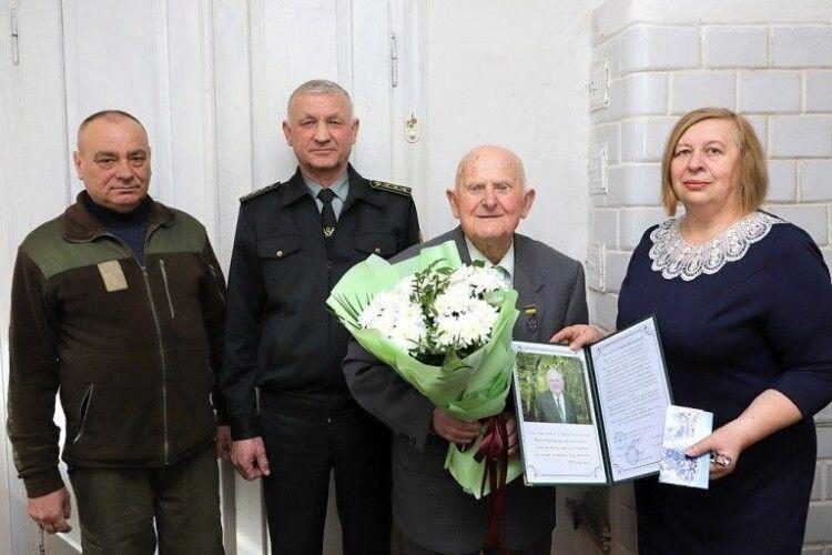 Найстаріший лісівник з Маневиччини святкує 90-річний ювілей