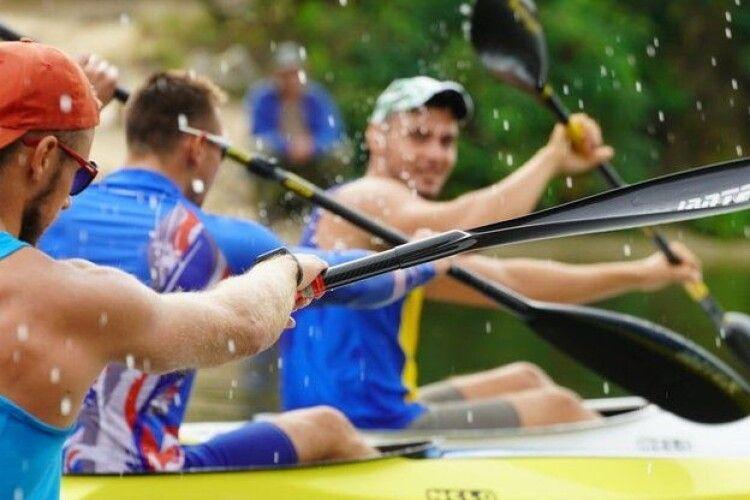 Волинські веслувальники – у трійці найкращих на чемпіонаті України