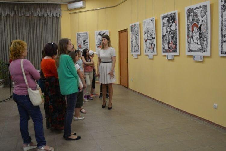 Історію життя княгині Ольги представлено на виставці у Ковелі