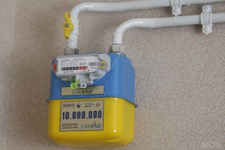 На Волині 44 тисячі неповірених лічильників газу