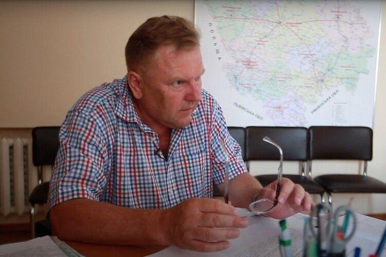 Назвали волинського чиновника, якому «шиють» розтрату 1,2 мільйона гривень (Відео)