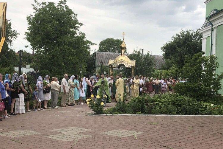 Як горохівчани відзначали день народження церкви (Фото)