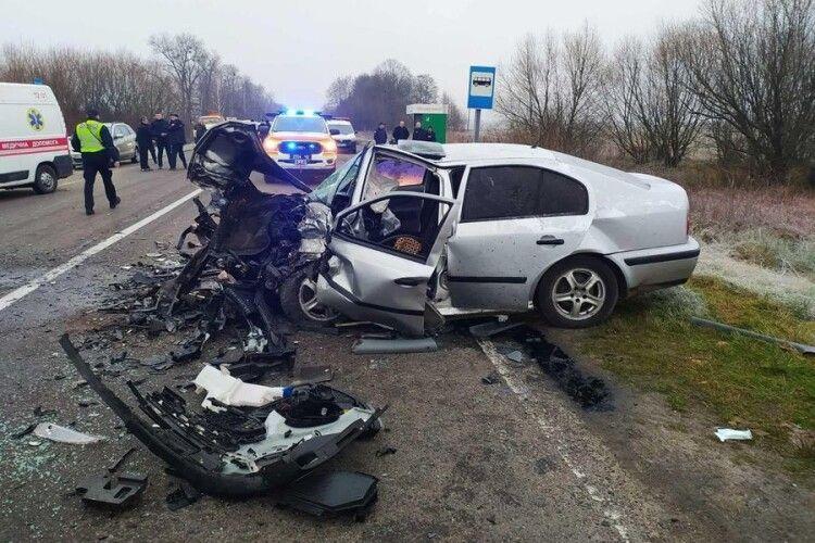 На Ратнівщині в ДТП загинули дві людини