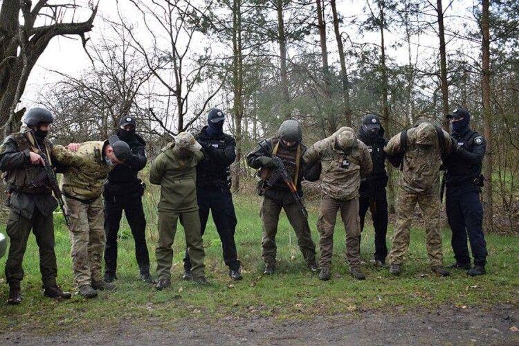 На Волині спецслужбовці та гвардійці вчилися протистояти терористичній загрозі (Фото)