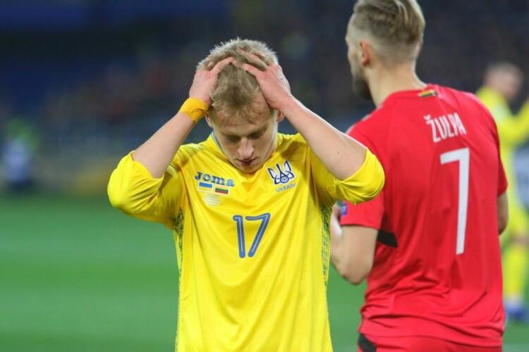 Футболіст збірної Олександр Зінченко після матчу з Німеччиною: Люди бажають мені і моїй родині смерті