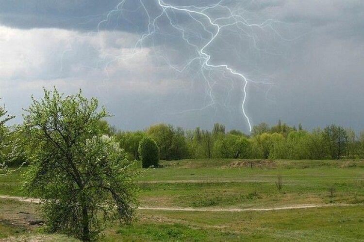 Погода на середу, 5 травня: на Волині місцями гроза