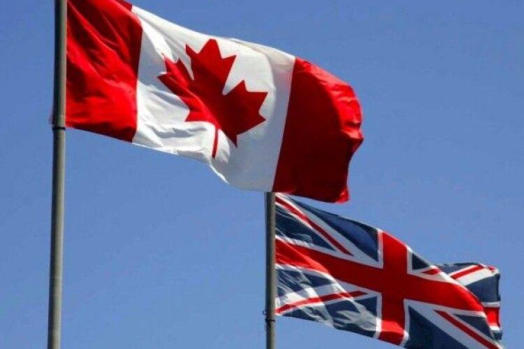 Канада і Велика Британія запровадили санкції проти режиму Лукашенка