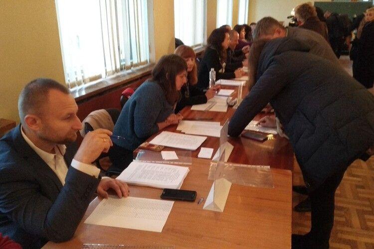 У Східноєвропейському національному університеті розпочалися вибори ректора (Фото)