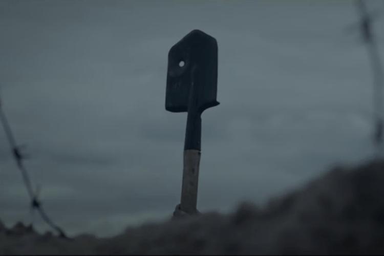 Відеоролик про лопату українського солдата потрапив у трійку найкращих у світі (Відео)